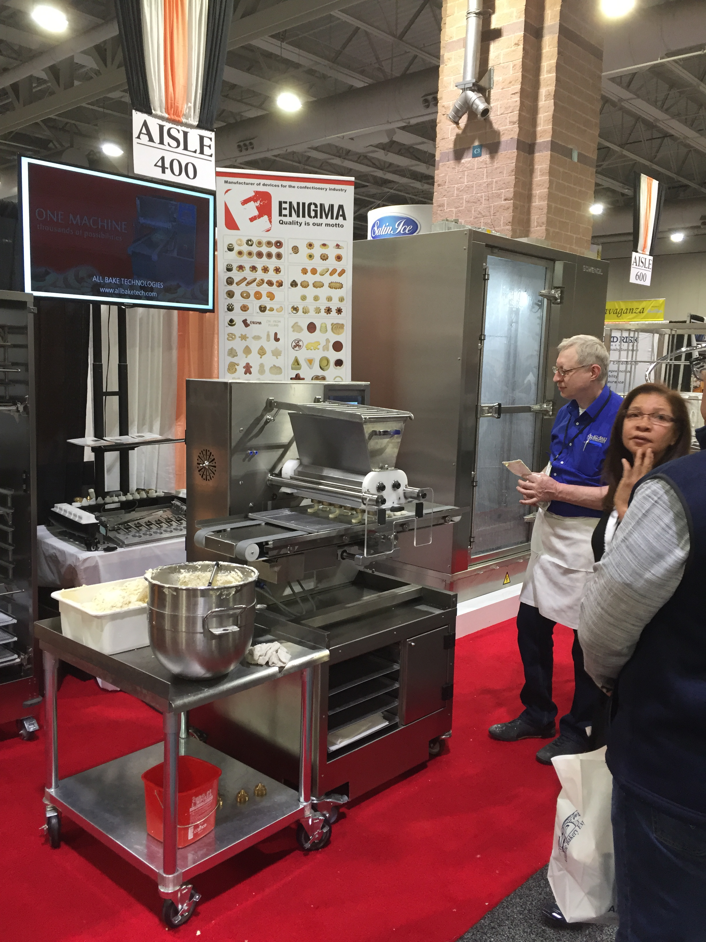 Atlantic Bakery Expo | Cookie Machines