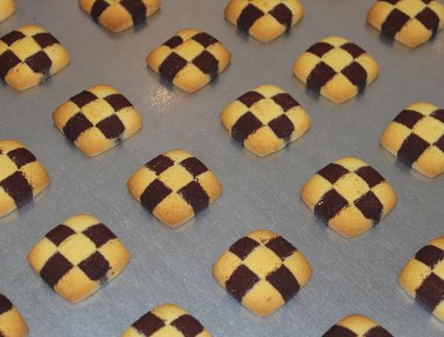 chessboard coookies