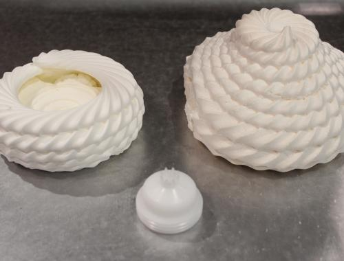 3d meringue by enigma cookie depositor